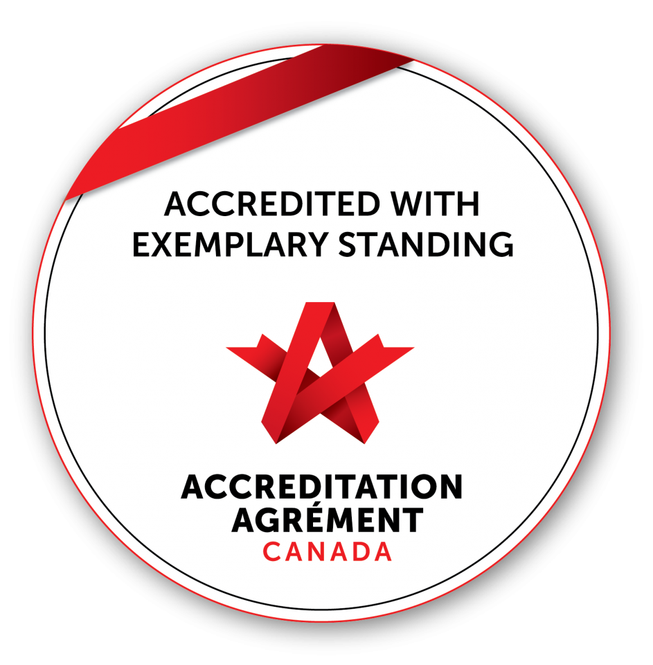 SLMHC awarded Accreditation with Exemplary Standing from Accreditation Canada