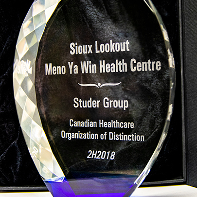 Sioux Lookout Meno Ya Win Health Centre :: News :: Sioux